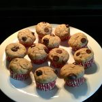 Banana chocolate chip muffin – yummy treat for lunch box